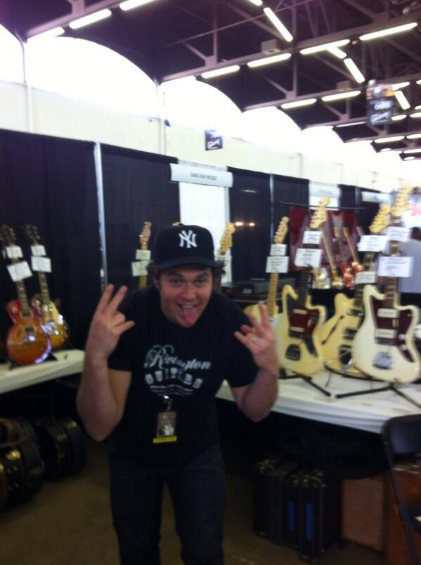 Howie Statland from Rivington Guitars is excited to be a the show!