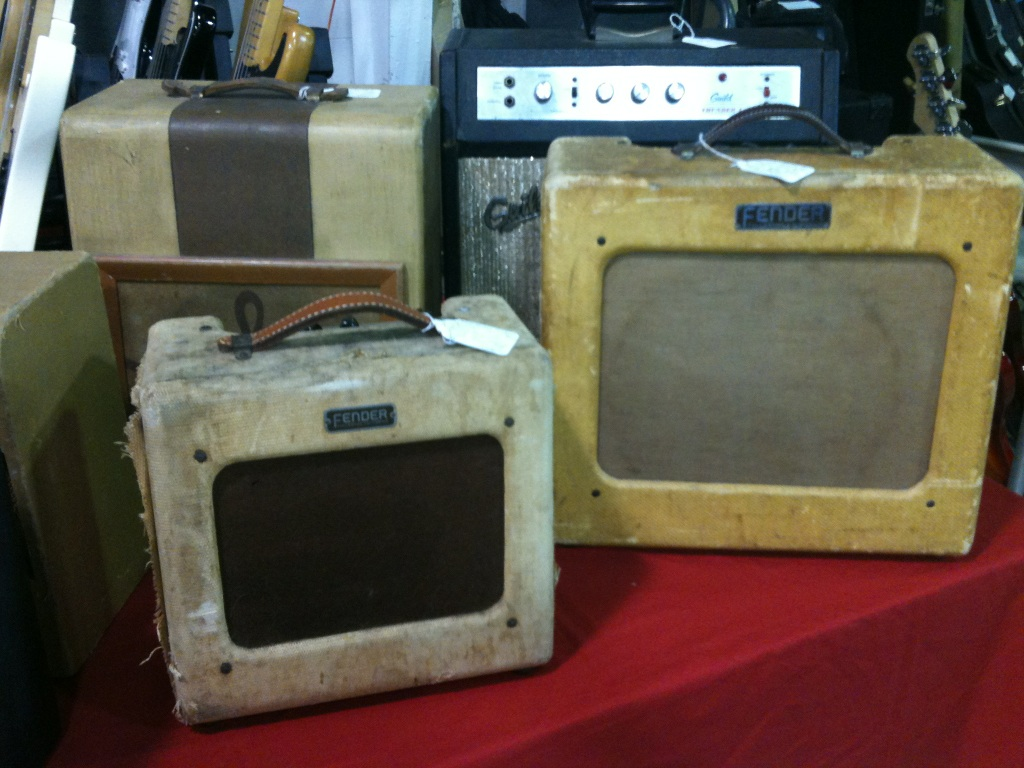 Kay and Vega amps