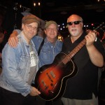 Baker Rorick with  Steve Uhrik and Peter of Retrofret Vintage