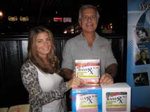 Lorenza Cocco Golden and Richard Cocco show off the new Rx Series Electric Bass strings
