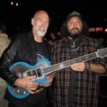 Evert Wilbrink of Teye Guitars and Doug Myer of Mountain Cat Guitars