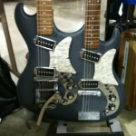 1960 Bartell at Guitars West booth