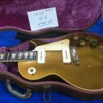 A clean '55 Gibson Les Paul.