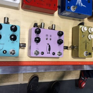 Want #music with the undeniably smooth, liquid sound of analog chorus and vibrato? Look to the JHS#Emperor! It's easy to integrate into any guitar rig.#JHSPedals #vibrato #modulation #NAMM2015#jhs #vintageguitar #NAMM #NAMM15 — in Anaheim, California.