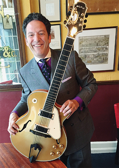 John Pizzarelli: Morgan Feldman.