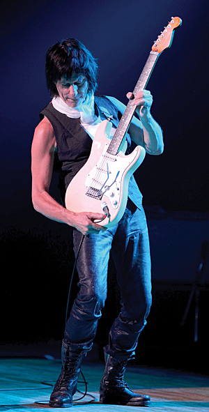 Jeff Beck. Photo: Ross Halfin.