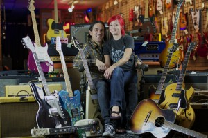 Jesse and Roxie Amoroso, Cowtown Guitars