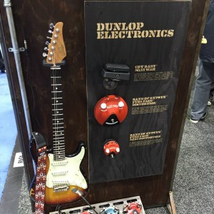 Jim Dunlop Guitar ProductsCry Baby Mini Wah was drawing a lot of attention at #NAMM2015. Are you a fan? #guitargear #vintageguitar #NAMMshow #NAMM15 — in Anaheim, California.