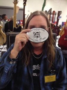 Jim Singleton from Jim's Guitars.