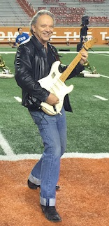 Jimmie Vaughan University of Texas Austin Marching Band