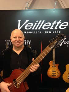 Joe Veillette shows off his 12-string.