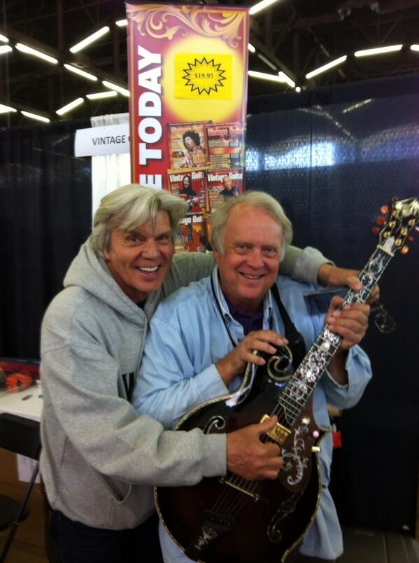 John Davidson and John Southern stop by the VG booth.
