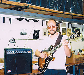 John Scofield in 1985 at the Sundown facility in Edison, New Jersey.