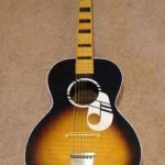 1960&#039;s Kay Parlor Guitar