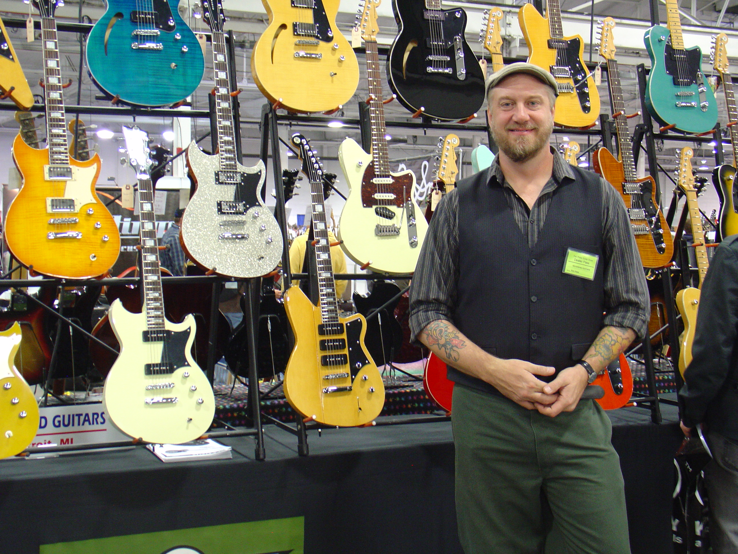 Ken Haas, Reverend Guitars