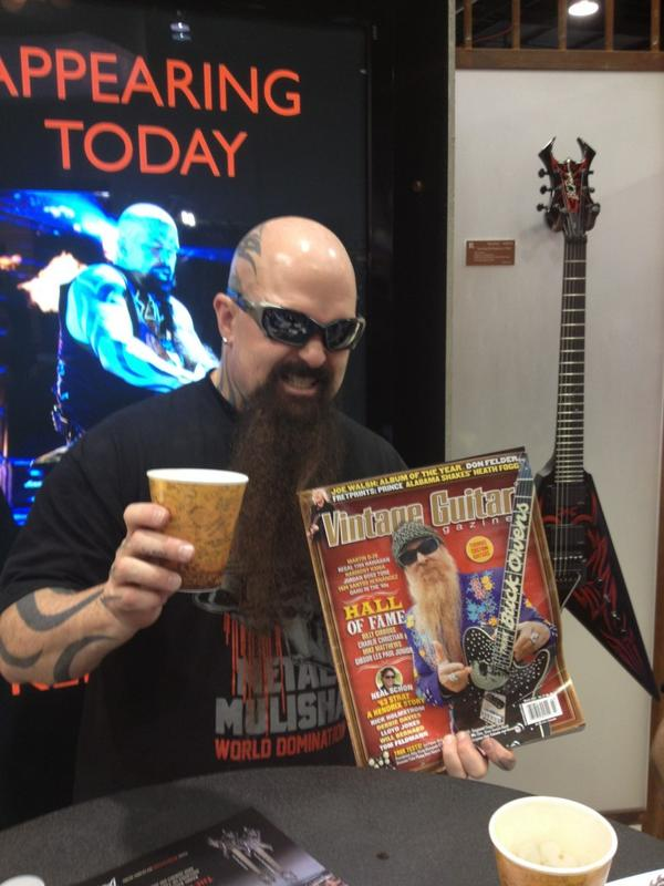 Kerry King from Slayer.