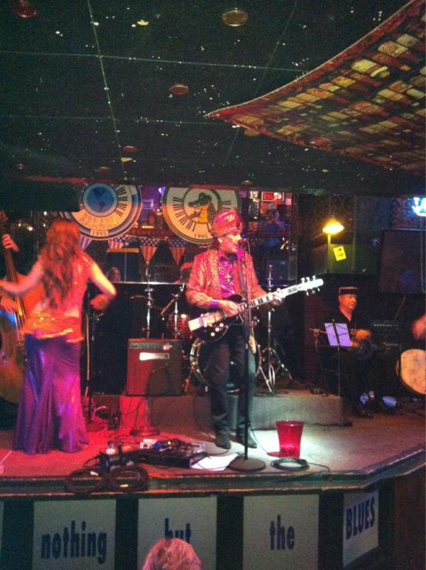 King Paris at Bourbon Street Blues - VG co-sponsored party w/ Reverend Guitars, Souldier Straps, and Earthquaker FX