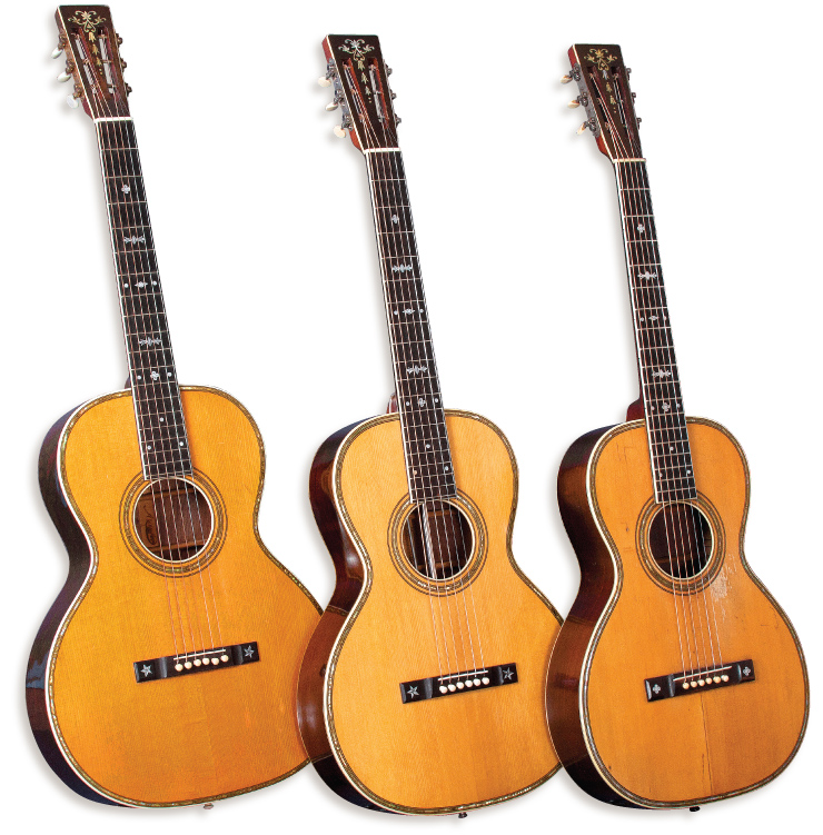 From left, the circa 1930 Maurer model 564, early-'30s Prairie State model 335, and early-'30s Euphonon model 562½.