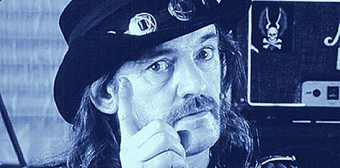 Ian Lemmy Kilmister. Moterhead