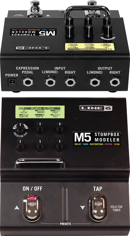 Line 6 M5 Stompbox modeler 