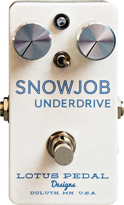 Lotus Pedal Designs' Snowjob Underdrive