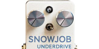 Lotus Pedal Designs' Snowjob Underdrive