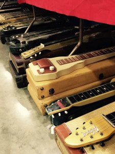 Get your lap steels at the #ocguitarshow! #vintageguitar — in Costa Mesa, California.