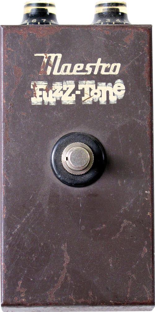 An early, Kalamazzo-built FZ-1A Fuzz-Tone. Later FZ-1A pedals were built in Lincolnwood, Illinois.