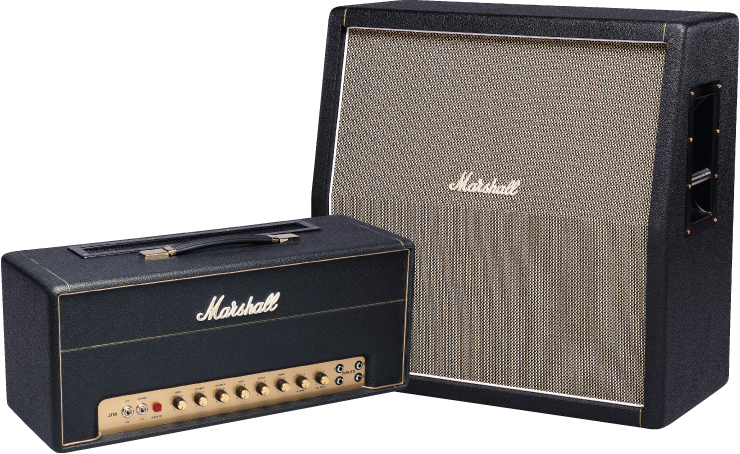 Marshall Handwired Series 2245thw Head And 1960ahw Cabinet