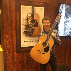 Over the past 100 years, the iconic Martin Dreadnought defined what an acoustic guitar can and should be. We caught up with the man himself while at #NAMM2016