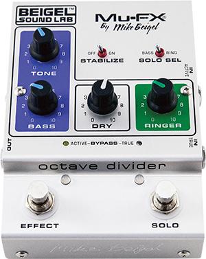 Mu-FX Octave Divider