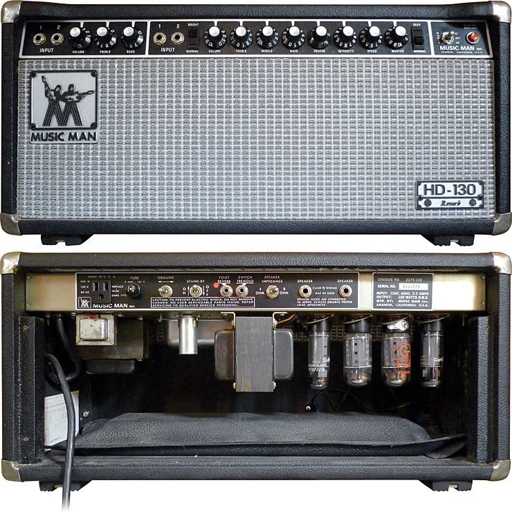 1977 Music Man HD-130 Reverb