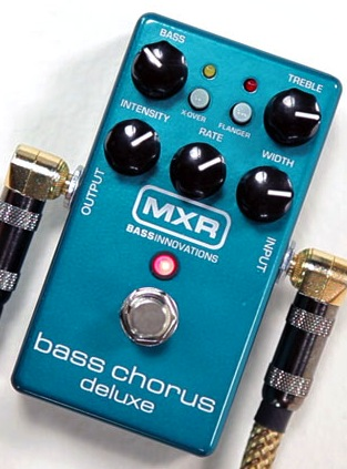 MXR introduces M83 Bass Chorus Deluxe.