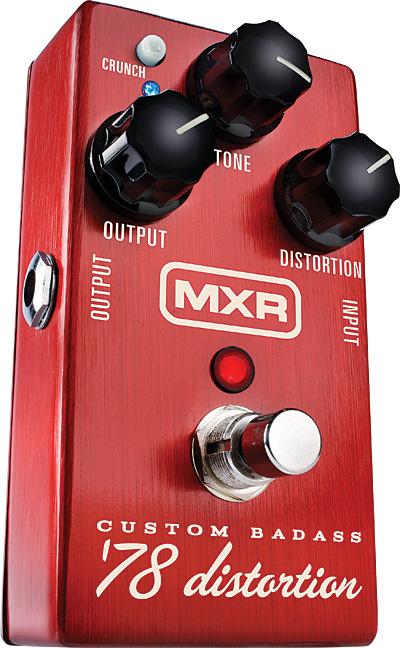 The MXR Custom Badass 78 Distortion