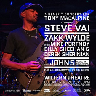 Tony MacAlpine Benefit