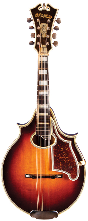 Early-'40s D'Angelico Excel Mandolin.