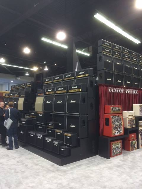 We have your Marshall Amplification stacks right here!