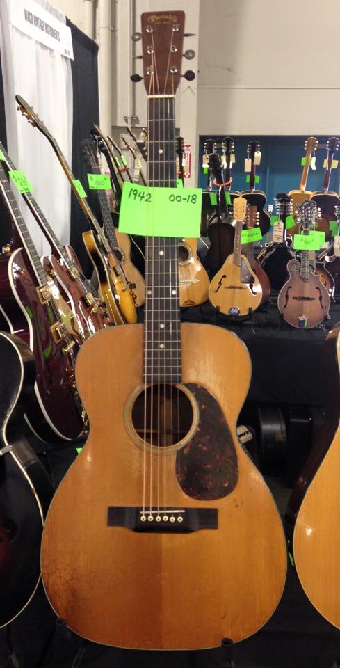 ..and a '42 Martin 00-18.