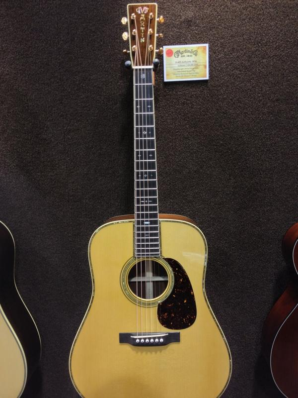 This Martin Guitar D-45 Authentic 1936 can be yours for $59,999.