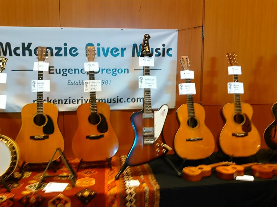 McKenzie River brought a beautiful selection to Guitarlington!
