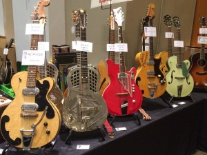 McKenzie River Music brings the cool to Guitarlington 2015 with a R.C. Allen, National Style 3, National Val Pro, Bigsby, and a 1960 Gretsch Anniversary!
