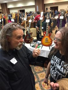 Eddie Prather (promotor)  with John DeGroff [original Bassist for CCM great Petra]