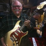 Michael DeTemple at DeTemple Guitars.