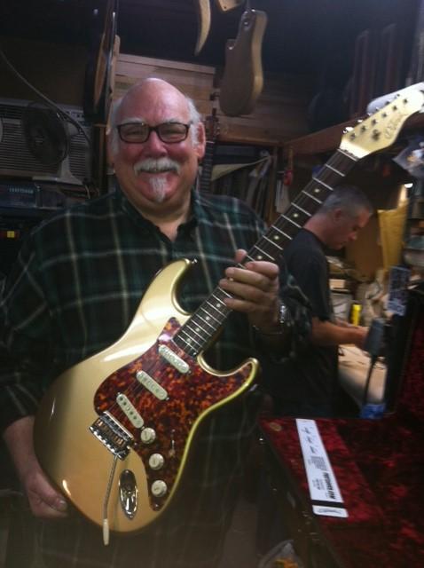Michael DeTemple at DeTemple Guitars.