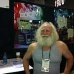The ever innovative Mike Matthews at the E-H booth.