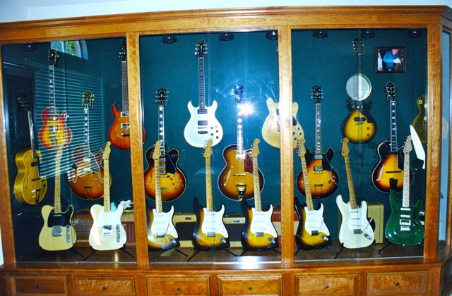 50's Strats and Teles.  50's and 60's Gibsons, etc