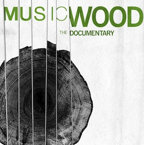 Musicwood set for screenings.