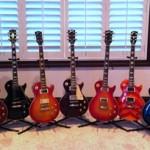 My 9 Les Pauls