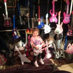 "Description: My 3yr old granddaughter & I always love to look at all the beautiful guitars in your great mag & while looking at the Father's Day issue she said "" Pops why can't we put my guitars in the book? Their beautiful too? After a second I thought "" why not? "" she has her own collection of 29 ! So here is my granddaughter  SUNDAY  ROSE ROBINSON 's  collection ,all in perfect working condition.....3years old!"