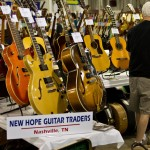 New Hope Guitar Traders booth